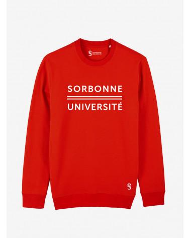 Sweat Rouge Sorbonne Université