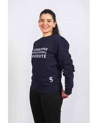Sweat Bleu Marine Sorbonne Université