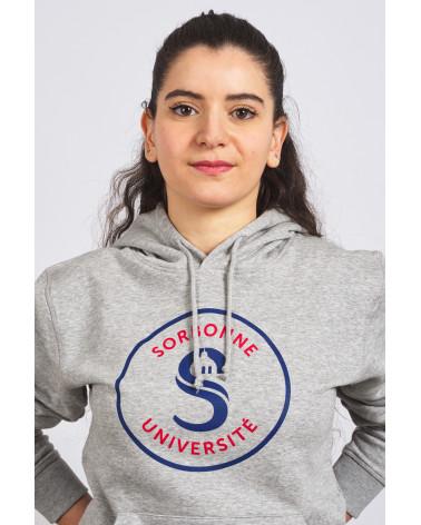 Hoodie Gris Sorbonne Université